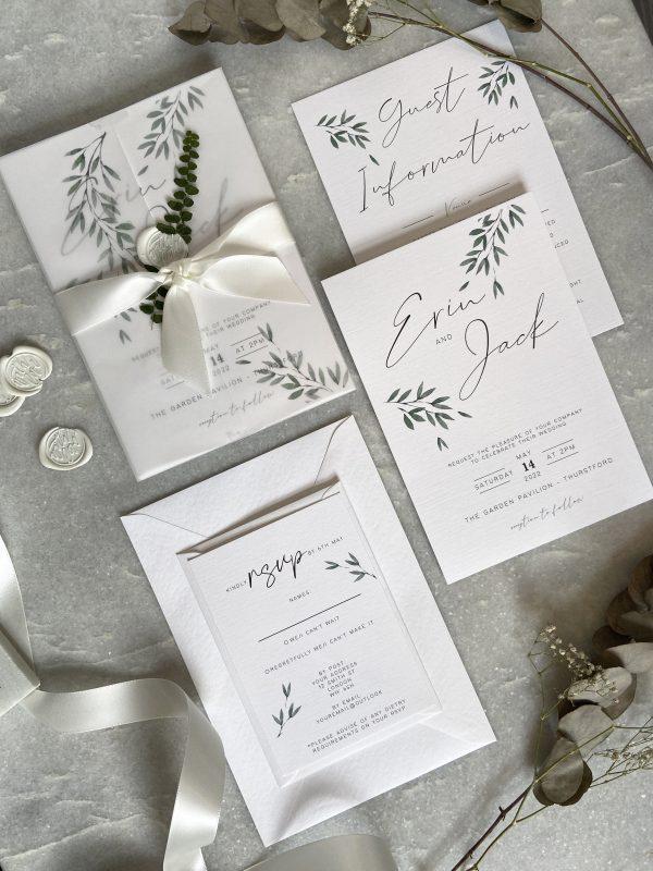 Fern Wedding Invitation03